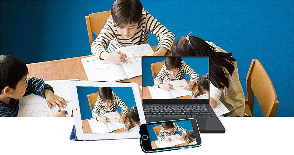 小孩学习图